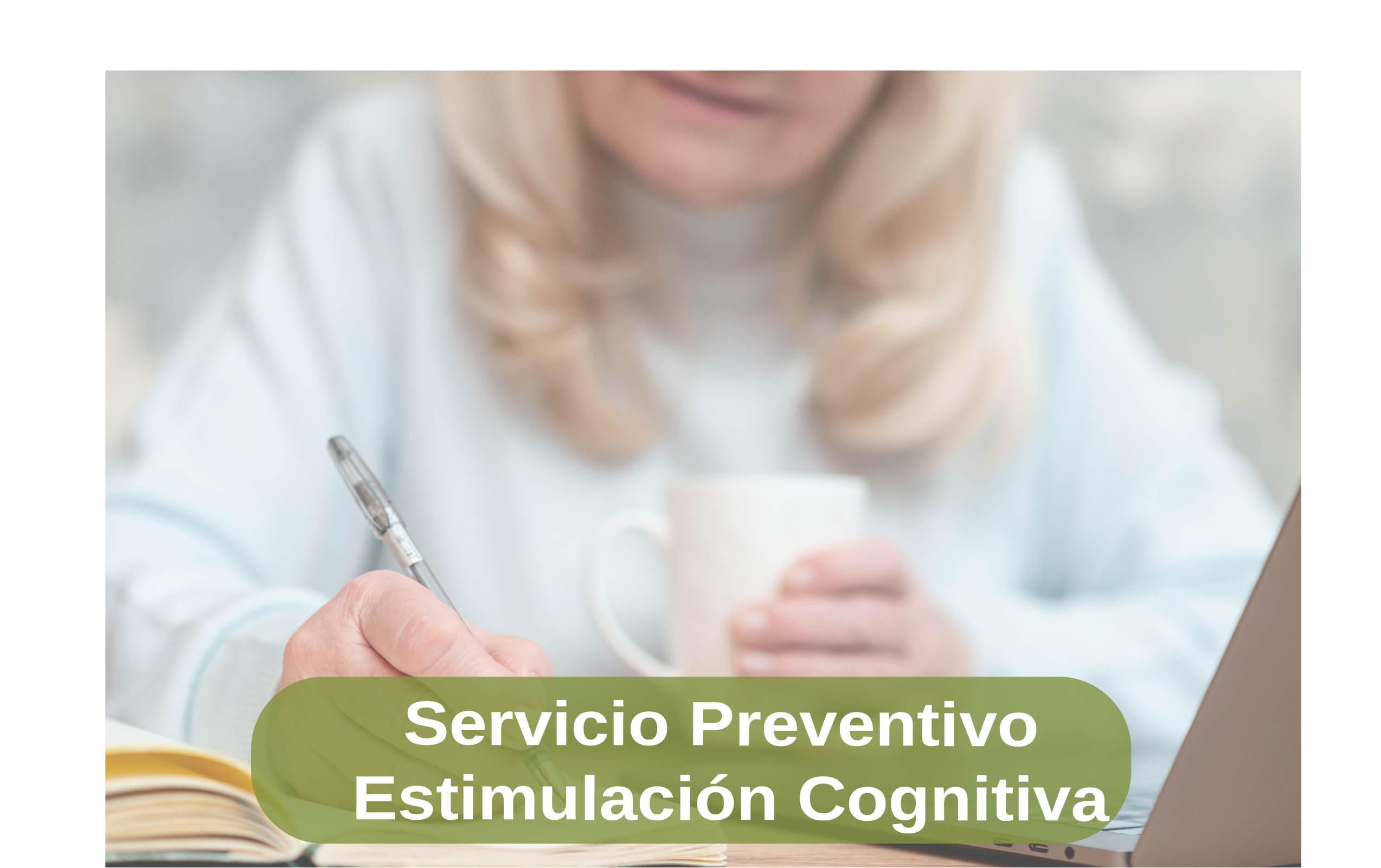 Servicio preventivo de estimulación cognitiva